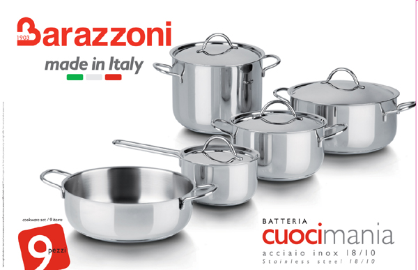 Stunning batteria da cucina alessi ideas design ideas for Offerte pentole alessi