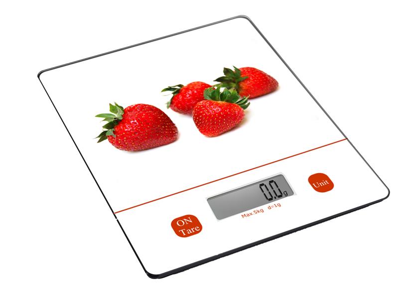 Bilancia cucina digitale decor fragola 033328 vaccarino - Silvercrest bilancia digitale da cucina ...