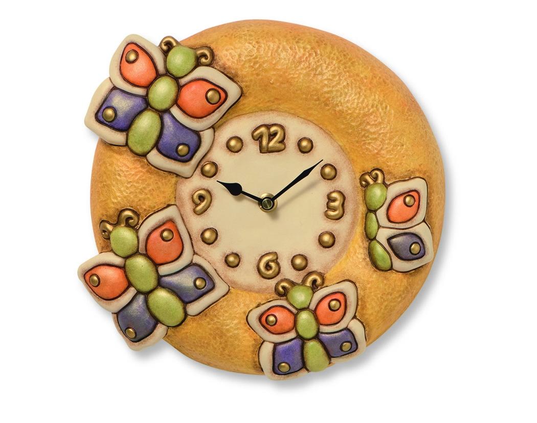 Orologio farfalle variopinto c751h90 for Thun orologio da parete prezzi