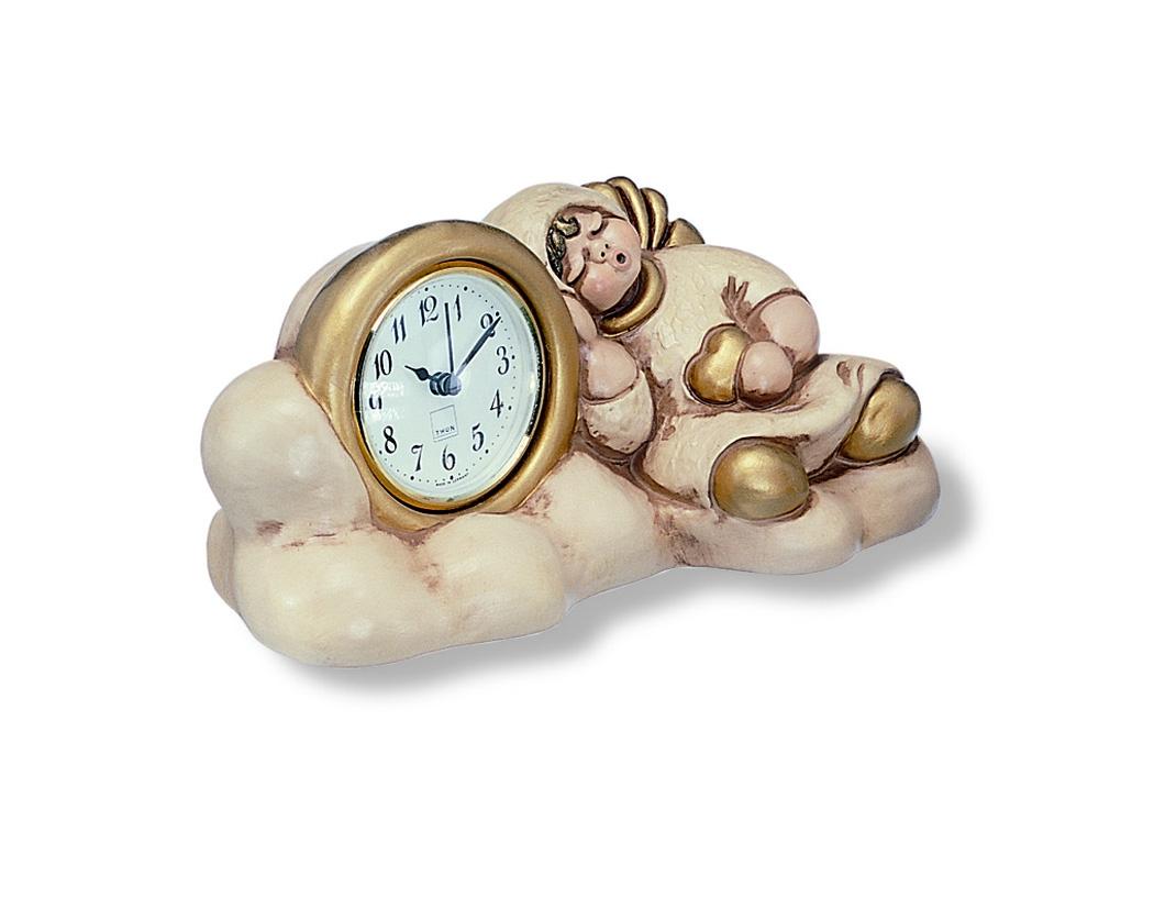 Orologio nuvoletta con sveglia champagne c715b83 for Lavagna con orologio thun