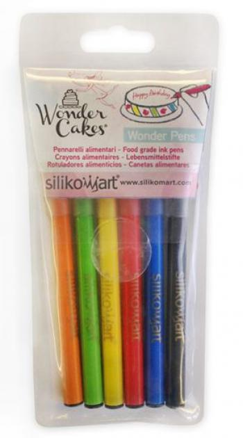 Set 6 Pennarelli per decorare i dolci Wonder Pens